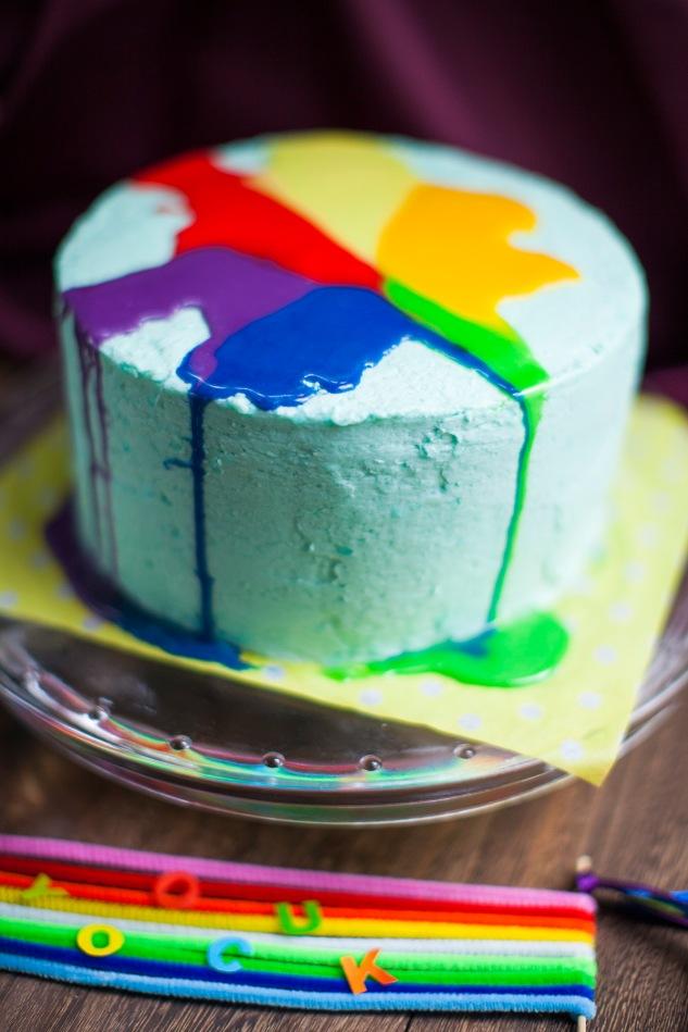 Vanilla Pie >> Rainbow Dash Cake | Cake & Wildflour