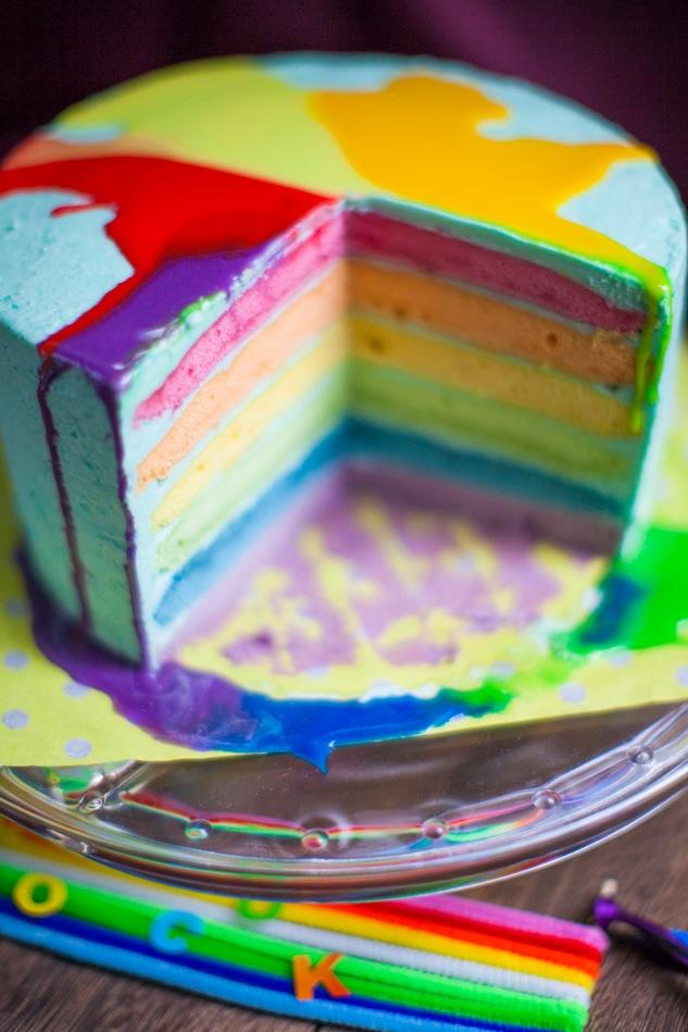 Rainbow Dash Cake Cake Amp Wildflour