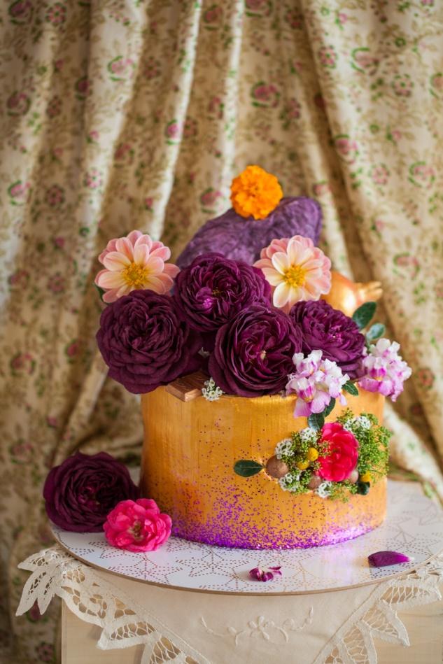 Cake & Wildflour | Golden Blush Cake 1