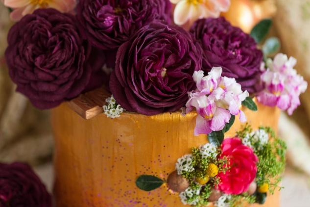 Cake & Wildflour | Golden Blush Cake 2