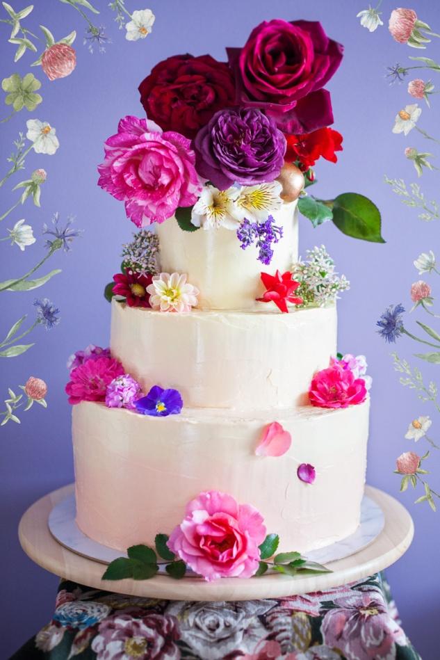 Cake & Wildflour | Spring Meadow Cake 1