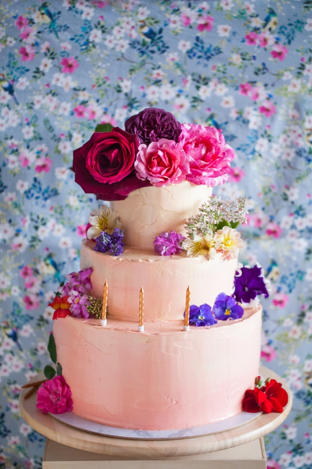 Cake & Wildflour | Whimsy + Glamour Cake 1