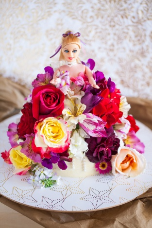 when you just want flowers, dolls & cake