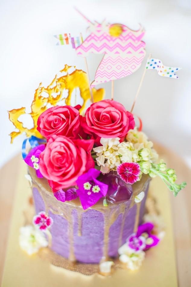 cake & wildflour | flora & fauna cake
