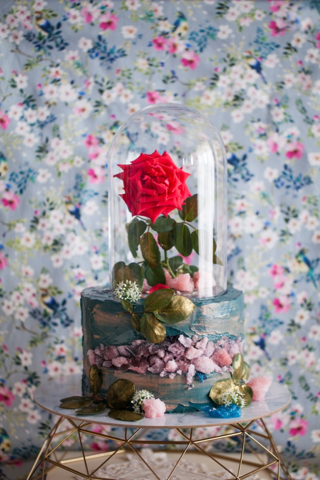Cake & Wildflour | Beauty & The Beast Cake