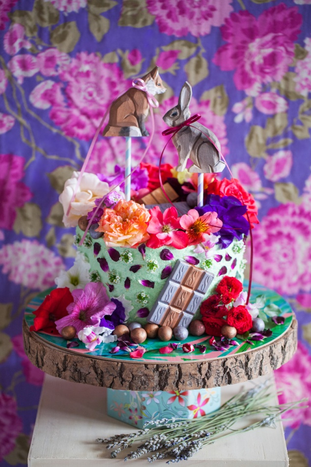 Cake & Wildflour | Easter Woodland1