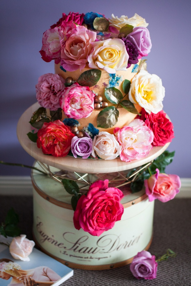 Cake & Wildflower | Floral Explosion Cake