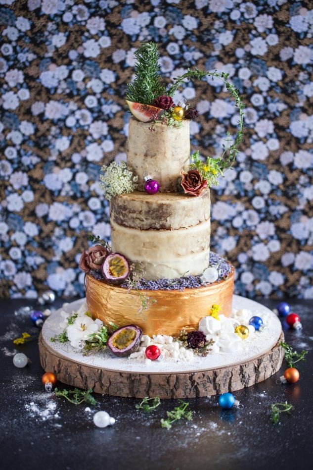 Cake & Wildflour | Gingerbread Tree Cake 1