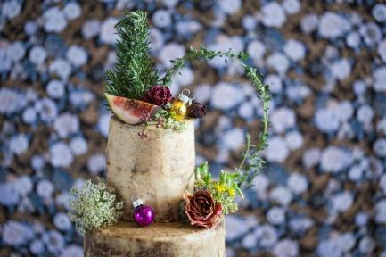Cake & Wildflour | Gingerbread Tree Cake 3