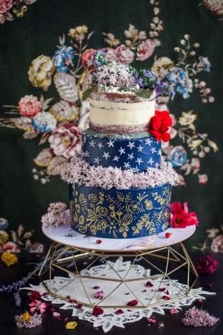 Enjoyable Midnight Garden X The Little Prince Birthday Cake Dreams Milk Personalised Birthday Cards Bromeletsinfo